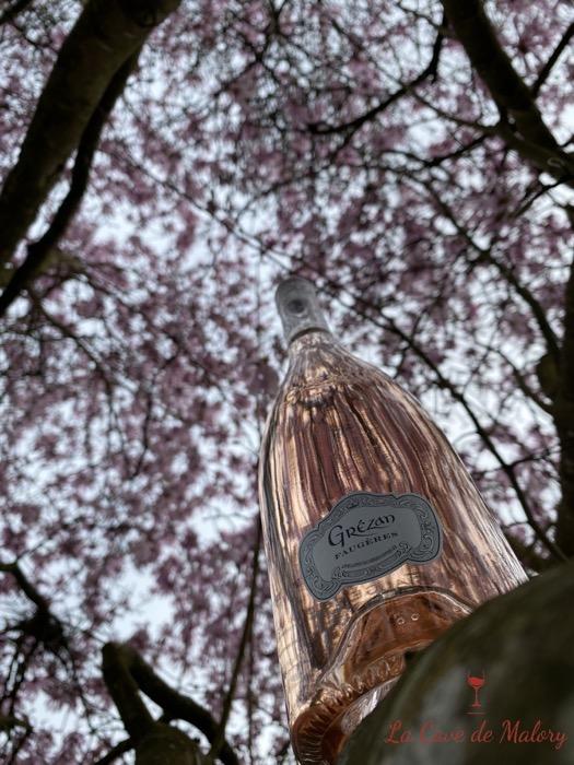Vin rosé cave de malory josselin