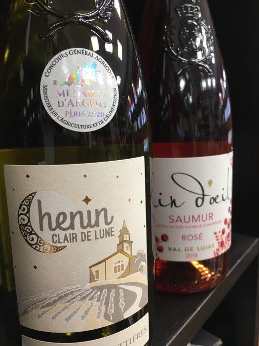 Vin blanc cave de malory josselin